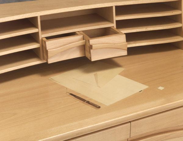 Beech Writing Desk 2
