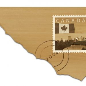 Canadian Stamp Wall Art