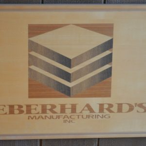 Eberhard's Manufacturing Marquetry Logo