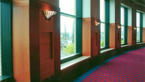 Paneled Hallway