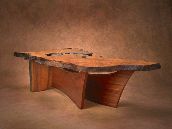 Redwood Burl Coffee Table 2