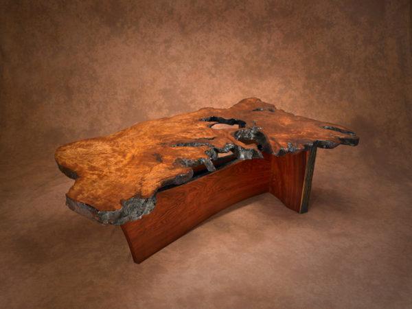 Redwood Burl Coffee Table 3